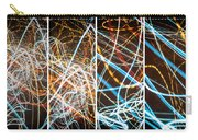 Lightpainting Quads Art Print Photograph 3 Carry-all Pouch