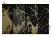 Lightpainting Quads Art Print Photograph 4 Carry-all Pouch