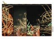 Lightpainting Quads Art Print Photograph 5 Carry-all Pouch