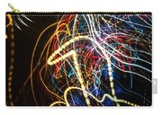 Lightpainting Single Wall Art Print Photograph 3 Carry-all Pouch