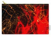 Lightpainting Single Wall Art Print Photograph 7 Carry-all Pouch