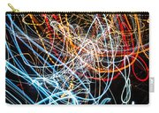 Lightpainting Single Wall Art Print Photograph 9 Carry-all Pouch