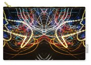 Lightpainting Symmetry Wall Art Print Photograph 1 Carry-all Pouch