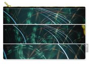Green Film Grain Lightpainting Abstract Carry-all Pouch