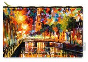 Lights And Shadows Of Amsterdam Carry-all Pouch