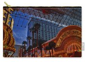 Lights In Down Town Las Vegas Carry-all Pouch