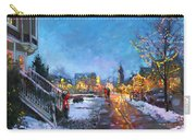 Lights On Elmwood Ave Carry-all Pouch