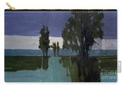 Lights On The Horizon Carry-all Pouch