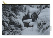 A Snowy Secret Garden Carry-all Pouch