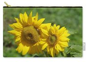 Like Two Smiles In Bloom Carry-all Pouch
