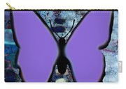Lila Papillon Carry-all Pouch