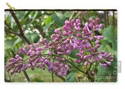 Lilac Buds Cluster Carry-all Pouch