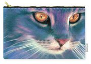 Lilac Cat Carry-all Pouch