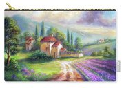 Lilac Fields In The Italian Countryside   Carry-all Pouch
