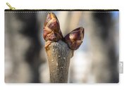 Lilac Leaf Buds Carry-all Pouch