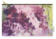 Lilacs - Note Card Carry-all Pouch
