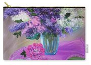 Lilacs 2 Carry-all Pouch