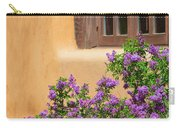 Lilacs And Adobe Carry-all Pouch