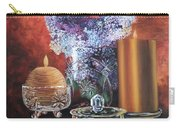 Lilacs And Candles Carry-all Pouch
