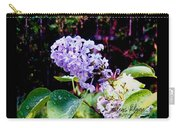 Lilacs Carry-all Pouch by Deleas Kilgore