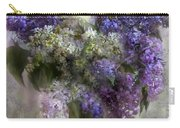 Lilacs Of Love Carry-all Pouch by Carol Cavalaris