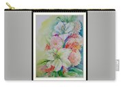 Lilies And Mums Carry-all Pouch