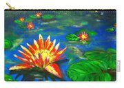 Lilies By The Pond Carry-all Pouch