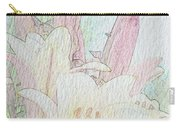 Lilies. Flowers And Buds. Carry-all Pouch