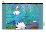 Lilies In Abstract Carry-all Pouch