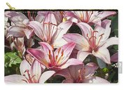 Lilies In Pink Carry-all Pouch