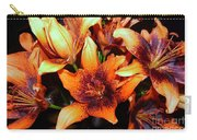 Lilies In The Shadow Carry-all Pouch