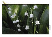 Lilies Of The Valley - Watercolor Carry-all Pouch