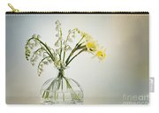 Lilies Of The Valley In A Glass Vase Carry-all Pouch