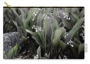 Lilies Of The Valley Mindscape No 2 Carry-all Pouch