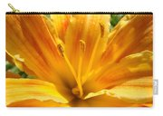 Lilies Orange Yellow Lily Flower 1 Giclee Art Prints Baslee Troutman Carry-all Pouch