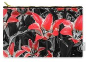 Lilies With A Splash Of Color Carry-all Pouch