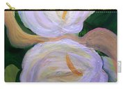 Lilies With Chiffon Carry-all Pouch