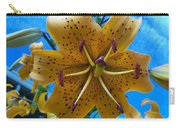 Lilium Yellow Carry-all Pouch