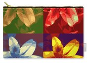 Lillies Of Four Carry-all Pouch