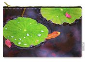 Lillies On Water Carry-all Pouch