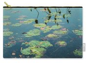 Lilly Pad In Pond  Carry-all Pouch