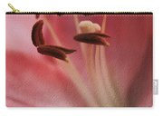 Lilly Pink Craquelure Carry-all Pouch