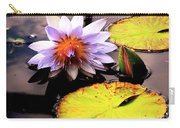 Lillypad In Bloom Carry-all Pouch