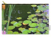 Lillypads And Cattails Carry-all Pouch