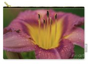 Lily Bloom Close Up Carry-all Pouch