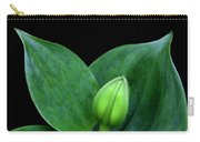 Lily Bud Carry-all Pouch