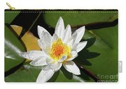 Lily Floating On Pond IIi Carry-all Pouch
