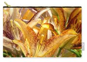 Lily Flower Garden Art Prints Canvas Floral Lilies Baslee Troutman Carry-all Pouch