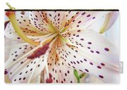 Lily Flower White Lilies Art Prints Baslee Troutman Carry-all Pouch