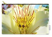 Lily Flowers Art Prints Yellow Lillies 2 Giclee Prints Baslee Troutman Carry-all Pouch